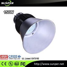 CE RoHS Mean Well driver led high bay light high power