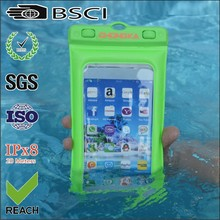 2015 new products waterproof bag for iphone 5 with ipx8 certification