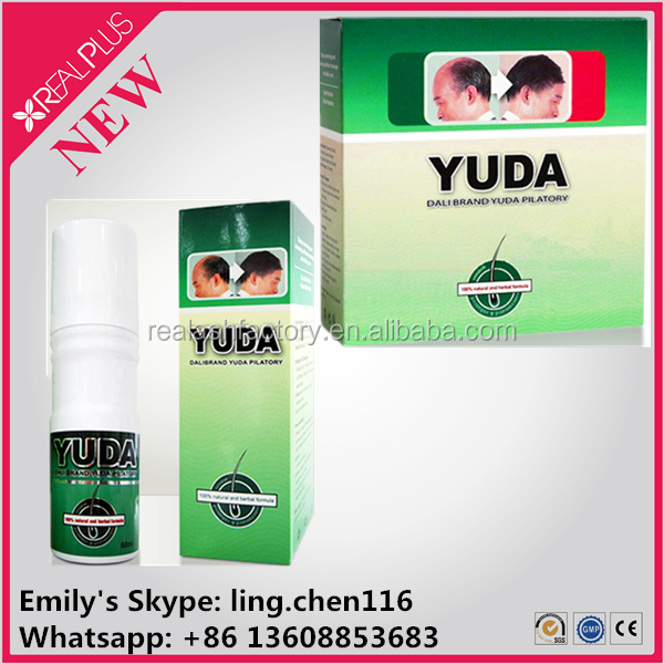 GMP new popular yuda hair growth spray, hair growth solution!