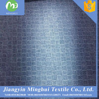 hot selling high quality and lower printed denim fabric price