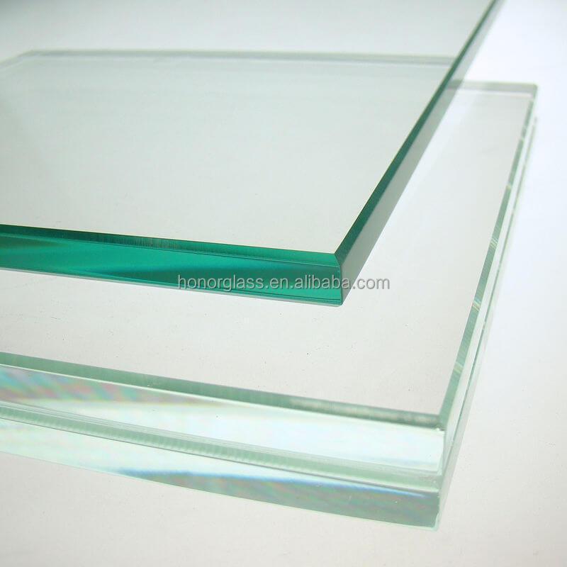 Shandong meilleur prix 4mm 5mm glasss trempé m2 prix