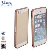 Veaqee popular aluminum bumper metal case for iphone 5 s