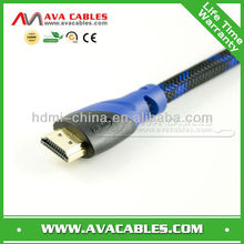 High Speed Double Color HDMI cable with Enthernet(1.4v)