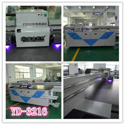 high definition UV flatbed Printer, Factory Yueda printer machine, UV printer