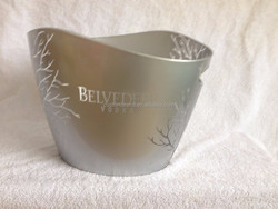 belvedere vodka acrylic ice bucket cooler
