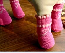 Lanle calcetín del animal doméstico de arranque calcetín animales marionetas custom sock fabricante