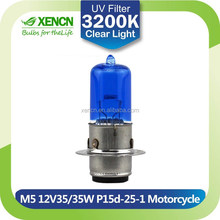Universal Clear M5 P15d-25-1 12V 35W led motorcycle headlight