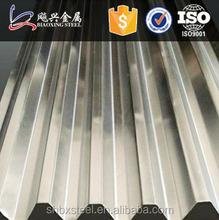 Galvanisé tôle ondulée métal pour préfabriquée acier clôture