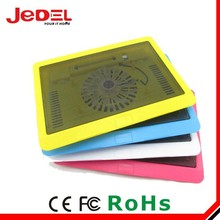 Hot sale colorful laptop notebool cooling pad