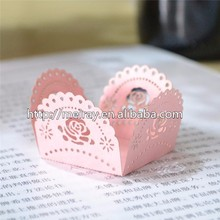 Small and exquisite sweet box! laser cut paper crafts mini candy wrappers new product ideas from Mery Crafts