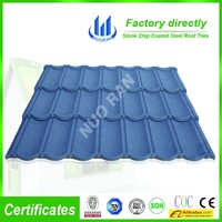 Factory Environmental Protedtion kerala stone coated metal roof tile