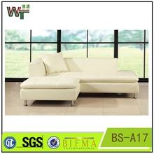 BS-A17 sofa Ottoman leather footstool