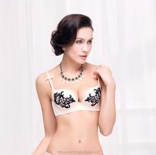 Plus size soft seamless female underwear cotton underwear bra