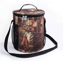 Camo style specialized bottle cooler bag
