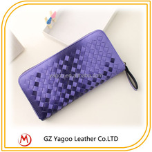 Exported Long Woven Purese Wallet, Lady Elegance Purse
