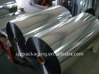 aluminum film 12mic with VMPET/ metallized PET/VMPET + PE