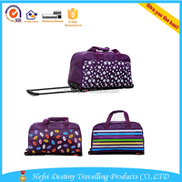 new style mew design portable travel sport bag with trolly
