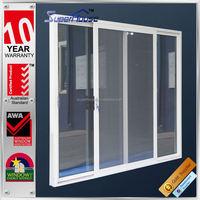 Australian standards AS2047 AS2208 AS1288 double glass aluminium top hung sliding door