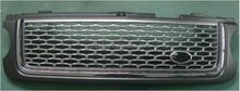 AUTO PARTS--L ROVER R ROVER VOGUE L322 AUTOBIOGRAPHY SUPERCHARGED 2010 2011 2012 GRILLE GREY SILVER