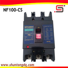 mitsubishi automatic electrical mccb 3 phase molded case circuit breaker NF100-CS