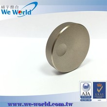 Quality surface sandblast chamfered edge color anodized control knob