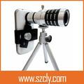 general 12x hd magnificación óptica zoom len para el teléfono móvil