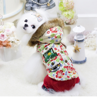Fashion Print Dog Winter Coats Dog Jacket Dog Clothes Wholesale Pet Products For Pet Shop