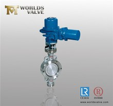 CF8M/CF8/CF3M/CF3 handle/lever/manual/wrench butterfly valve