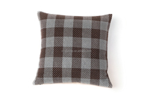 Different color plaids cushion linen