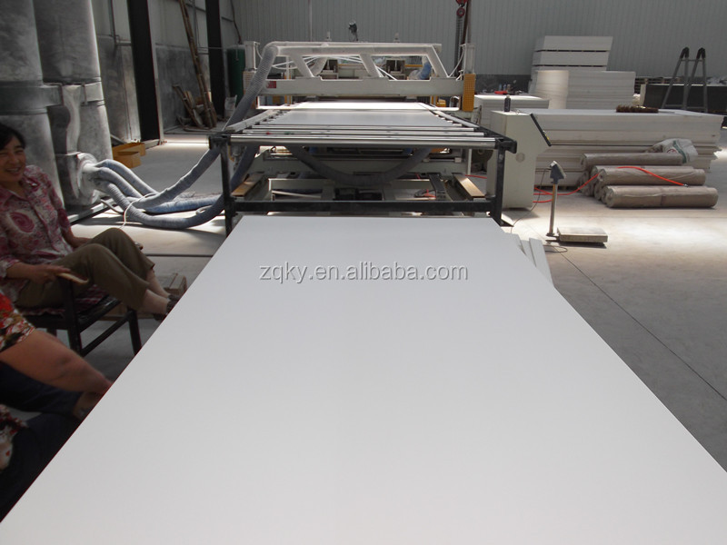Manufacturer 4x8' pvc free foam sheet with high density / pvc sheets black / foam pvc sheet
