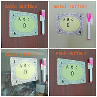 magnetic dry eraser writing board for promotional/memo pad