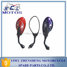 SCL-2013090339 Universal Motorcycle Motorbike Scooter convex Rear view Mirror