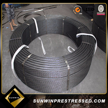 1x7 Low Relaxation Prestressing Concrete Steel Strand from Manufacture