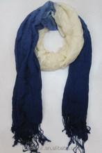 New Long Soft Gradient Color Chiffon Lady's Scarf/Shawl