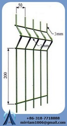 steel pipe fence decoration garden cheap fence