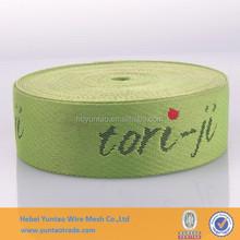 Hotsale!!! fashion Jacquard printed webbing