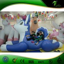 Wonderful Iinflatable Husky Cartoon , Inflatable Blue Dog Hot Sell Dog Model For Playing