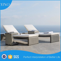 Summer Bench Chair Outdoor Lounger Bed Rattan Hanging Lounger Furniture SM0059