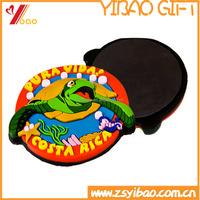Cheap supplier custom 2D/3D cartoon logo soft pvc souvenir fridge magnet