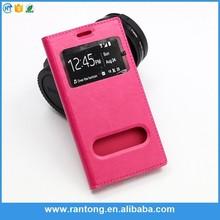New arrival novel design leather flip case for nokia asha 502 with good offer