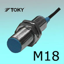 M18 Shape Inductive Proximity Sensor / Capactive Proximity Switch