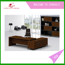School Wooden Cheap Computer Desk , Desktop Computer Table Designs For Teacher And Students