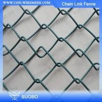 Hot Sale!! Gauge 8 Chain Link Fence, Pvc Coated Chain Link Fence, 5 Foot Plastic Coated Chain Link Fence