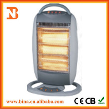 2015 portable electric osillation halogen tube heater