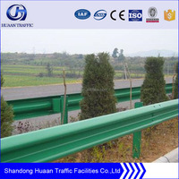 plastic spary, powder coating guardrail for highway used