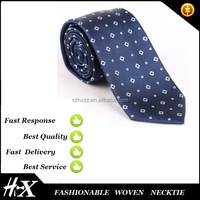 High quality hot selling striped polyester woven necktie