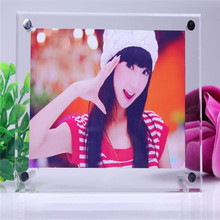 Acrylic /Polyresin green circle funny beautiful lovely photo frames / wholesale lovely photo frames