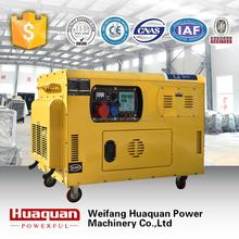 10 kva permanent magnet silent generator alternator