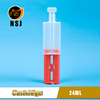 24ml 1:1 Dual Empty Plastic Resin Syringe For Electronic