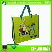 cosmetic tote pp woven bags promotion
